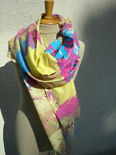 Scarf Stole Women's Scarf Wool Scarf New Mel & Davis Multicolour Print M&D-CO04