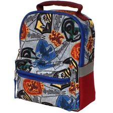 HARRY POTTER HOGWARTS PVC & Lead-Free Dual-Chamber Insulated Lunch Box Tote Bag