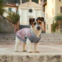 Felpa per cani - con Caldo Interno in Peluche e applicazione di Paillettes Tg 36