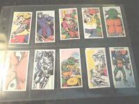 1990 Brooke Bond Tea  TMNT  TEENAGE MUTANT NINJA TURTLES  set  12 cards