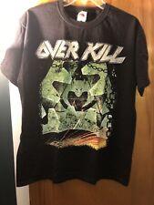 Overkill �mean Green Killing Machine� (unworn used, Large T-Shirt)Nj Metal