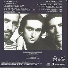 rare rock CD 90's 80's CAIFANES El nervio del volcan AFUERA miedo AVIENTAME