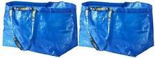 2 NEW IKEA FRAKTA Large Blue Reusable 19-Gallon Tote Bag