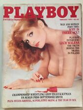 Vintage Playboy Magazine February 1982 Kimberly McArthur - Great Vintage Ads