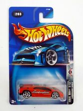 Hot Wheel Lamborghini Diablo #203 Final Run 9/12 Die-Cast Car Moc Complete 2003