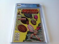 MASTERS OF THE UNIVERSE 2 CGC 9.6 WHITE PAGES GRAYSKULL HE-MAN MARVEL COMICS