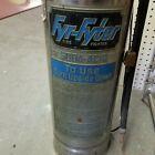 Antique Vtg FYR FYTER Soda Acid Fire Extinguisher Table Lamp Chrome