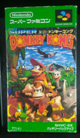 Donkey Kong Country Boxed ーSuper Famicom SFCー1994ーSHVC-8XーJapan Import