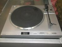 NICE Working Sanyo TPX3 Fully Automatic Direct Drive Turntable