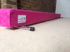 LIMITED EDITION finest quality gymnastics gym balance beam 10FT long HOT PINK