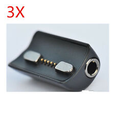 3X 3.5MM female Magnetic headset earphone adapter for Palm HP Veer 4G Smartphone