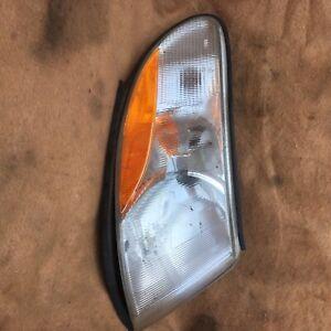2002 saab 9-3 right side turn lens used