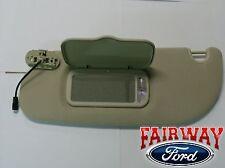03 04 05 Explorer OEM Genuine Ford Parts LH Driver's Tan Parchment Sun Visor NEW