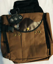 Falconry Vest, Brown Hawking Vest ,Shooting Vest With Shoulder Pad & Meat Pouch