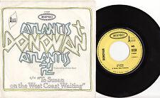 "DONOVAN - ATLANTIS  Very rare 1968 french PSYCH/FOLK 7"" P/S Single Release!"