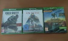 LOTE 3 JUEGOS XBOX ONE - CALL OF DUTY ADVANCED WARFARE + ANTHEM + PUBG - NUEVOS