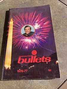 1976-77 Washington Bullets Media Guide, 1977-78 Champions