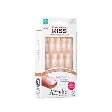 KISS Salon Acrylic Natural Nails 28pc