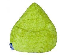 Sitzsack XL Magma Fluffy Sitzkissen apfelgrün Beanbag 110x70