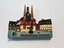 Wernigerode Souvenier Magnet Kühlschrankmagnet Rathaus Harz Andenken