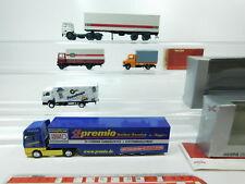 bh70-0,5 # 5 x herpa H0 / 1:87 Camión: MERCEDES pneuhage + Man PREMIO / DB