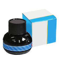 Fashioin Carbon Blue Fountain Pen Ink Writing Ink Refill Glass Bottle 60ml R