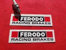 Pair of  Ferodo racing brakes stickers