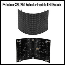 P4 indoor screen RGB full color flexible led matrix panel module 360 view angle