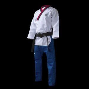 New adidas ADI-POOMSAE(Form) Taekwondo Uniform WTF Poomsae uniform-Youth Male