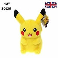Licensed Large Pikachu Plush Soft Toy Doll Great Gift for Pokemon Fans UK