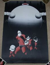 THE INCREDIBLES art movie poster print BRUCE YAN Supers sn/100 hero complex GLOW