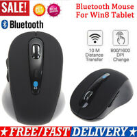 Mini Wireless Bluetooth3.0 Optical Mouse for Win8 Android PC Tablet Surface UK