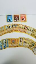 Lot of 118 Pokemon TGC Trading Cards from Water Blast/Starter Sets