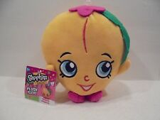Shopkins Plush Toy Peachy 6 1/2 Inch New USA Seller Moose +Fast Ship+
