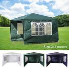 3x3M Heavy Duty Gazebo Marquee Canopy Waterproof Garden Patio Party Tent