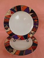 Furio FUO34 DINNER PLATE 1 of 2 available Geometric Rim