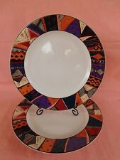 New listing Furio Fuo34 Dinner Plate 1 of 2 available Geometric Rim