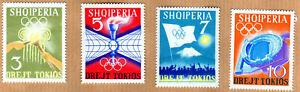Albania 1964 Complete Set MNH Michel Catalog nº 823/26 ***