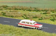 Busch 5611 Cadillac Ambulance, H0 Fahrzeug Modell 1:87