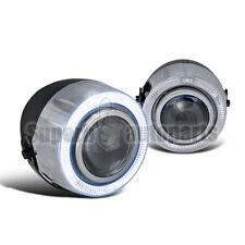 "4"" 7 Colors Halo Rim Projector Fog Lights w/ Switch H7 Bulb"