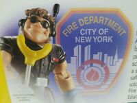 Rescue Heroes  FDNY  Matt Medic - Factory Sealed! Fire Department  Fisher Price