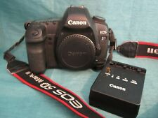 Canon EOS 5D Mark II 21.1MP Digital DSLR Camera Body w Charger & Battery