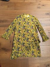Authentic  Madewell x Karen Walker Silk Floral Loretta Dress 0 Wq5275 $175 NWT