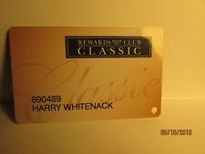 Pechanga Casino -Rewards Club Classic Card- Pechanga Casino, Temecula ,Ca-mint