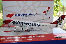 Edelweiss A330-300 (HB-JHR), new livery, 1:200 Phoenix
