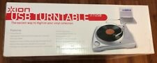 ION iTTUSB USB Turntable with Direct-to-Digital Conversion, New