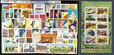 FRANCE- Année 2001 Complète 73 Timbres NEUFS** du N° 3367 au 3442  LUXE MNH
