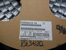 EEVEB2C330SQ, 33UF, 160V,  Aluminum Electrolytic Capacitors (1 ROLL OF 150)