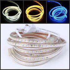 3014 LED Strip 220V 230V IP67 Waterproof Tape Rope Garden Decking Kitchen Lights
