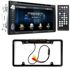 Soundstream VR-651B Double DIN DVD/Bluetooth/CD Car Stereo & Night Vision Camera